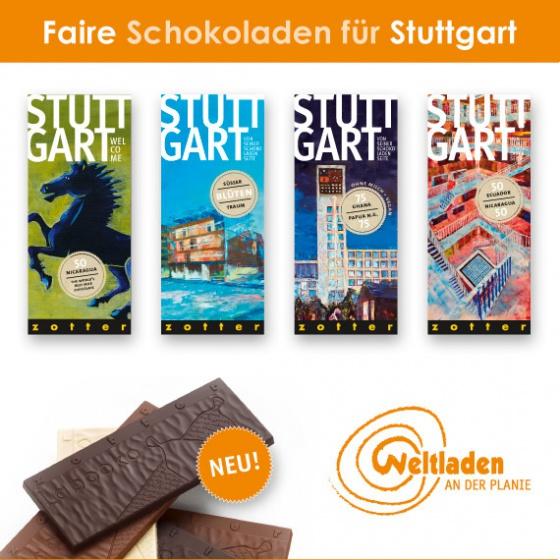 Faire Schokoladen für Stuttgart