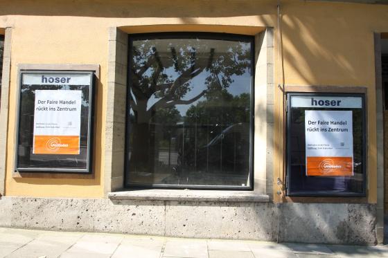 Fenster von außen, Juli 2014