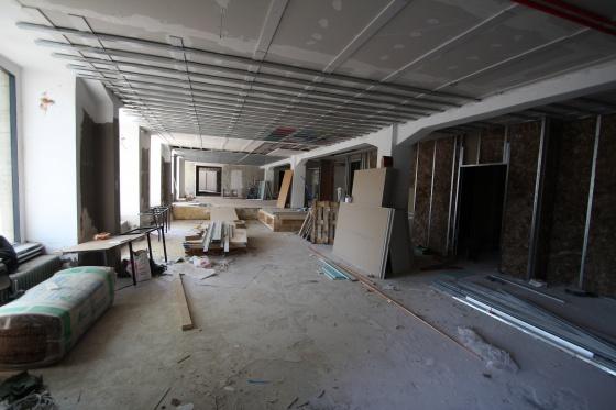 Vom Eingang nach oben, Juli 2014