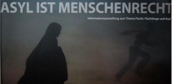 Ausstellung Asyl ist Menschenrecht